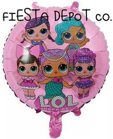 11pc LOL Surprise Doll Birthday Balloon Ensemble Party