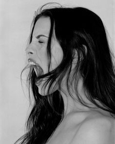 Liv Tyler dons sheer bralet in seductive black and white snap Face Drawing Reference, Profile Drawing, Face Profile, Profile Woman, Expressions Photography, Face Photography, Arte Punch, Screaming Drawing, Le Cri