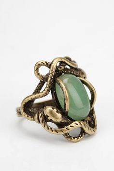 Circling Serpent Ring #urbanoutfitters