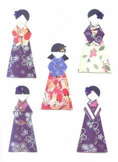 Korean Paper Dolls in Hanbok 2