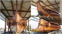 The Greek navy maintains a reconstruction of an ancient Athenian trireme, the HS Olympias, it is the only ship of its kind in the world - retro pin Greek History, Ancient History, Heinrich Schliemann, Greco Persian Wars, Olympic Flame, University Of Cincinnati, Tall Ships, American Civil War, Water Crafts