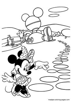 71 Minnie Mouse printable coloring pages for kids. Find on coloring-book thousands of coloring pages. Minnie Mouse Coloring Pages, Disney Coloring Pages, Free Printable Coloring Pages, Coloring Book Pages, Coloring Pages For Kids, Kids Coloring, Free Printables, Mickey Mouse And Friends, Minnie Mouse Party