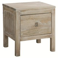 Cancun 1 Drawer Side Table | Freedom Furniture and Homewares