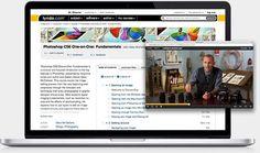 lynda.com on laptop