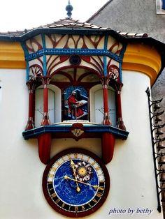 Magyarország - Székesfehérvár Big Clocks, Counting, Stained Glass, Public, Tower, Watches, Street, Life, Outdoor