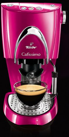 ~Hot pink cappuccino machine | House of Beccaria#