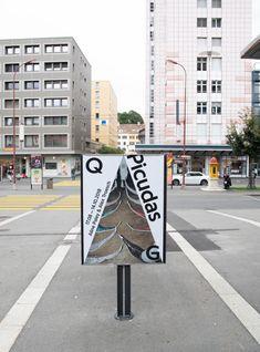 SUPERO_PICUDAS_8337 Environmental Design, Centre, Contemporary Art, Sidewalk, Graphic Design, Prints, Poster, Contemporary Artwork, Walkways