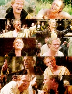 Paul Bettany as Geoffrey Chaucer. Brilliant.
