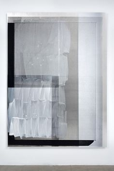 Nathan Hylden - Untitled (2009) - Acrylic on aluminum - 196.85 x 144.78 cm