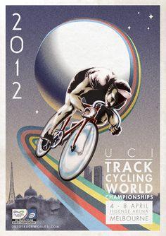 illustration: Ross Paxman  Melbourne 2012 UCI Track Cycling World Championships4 – 8 April, 2012 - Hisense Arena