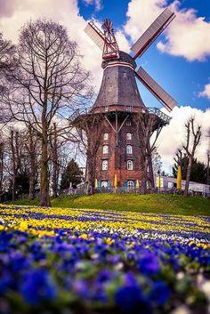 le pays des moulins Hollande