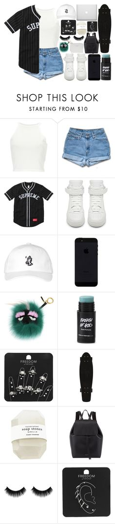"""I Mean It // G - Eazy"" by emotionlxss on Polyvore featuring Givenchy, October's Very Own, Fendi, Topshop and Mansur Gavriel"
