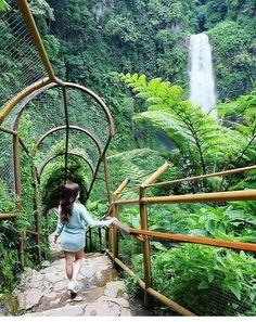 Curug Cimahi, waterfall, Lembang Bandung Utara Jawa Barat Indonesia