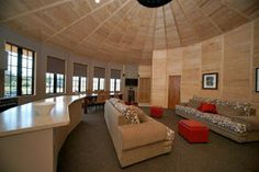 living area yurt