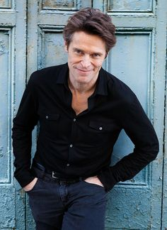 Willem Dafoe- greaT ACTOR love him as Gill in Finding Nemo HA!