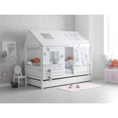 1000 images about peuterbed idee n on pinterest ikea kura bed ikea kura a - Ikea lit superpose blanc ...
