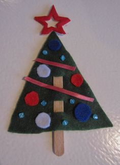 jouluaskartelu lapsille - Google-haku Felt Ornaments, Christmas Ornaments, Preschool Christmas, Xmas Crafts, Hobbies And Crafts, Winter, Holiday Decor, Hands, Felt