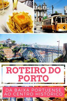 Roteiro do Porto: da Baixa Portuense ao Centro Histórico Beautiful Places To Visit, Beautiful Beaches, Places Around The World, Travel Around The World, Europe, What A Wonderful World, Algarve, Lisbon, Wonders Of The World