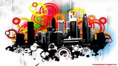 Abstract City Wallpapers Hd