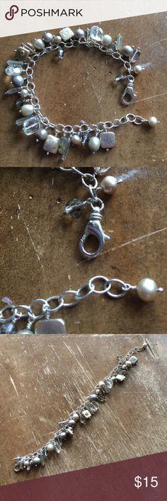 Bracelet Sterling silver solid 925 authentic Perls Bracelet Sterling silver solid 925 authentic Perls Jewelry Bracelets