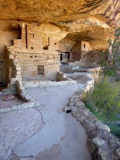 Balcony House, ca. 1278 AD, Mesa Verde National Park, Colorado