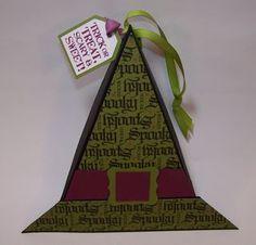 Witch Hat Triangular Halloween Box
