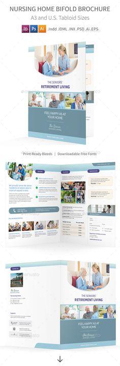Bifold Business Brochure Vol03 Template, Brochure template and - half fold brochure template