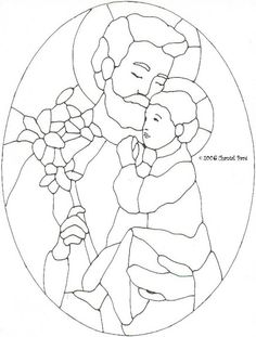 Vitrales - carmen rodriguez la rubia - Álbumes web de Picasa Stained Glass Quilt, Stained Glass Flowers, Stained Glass Patterns, Jesus Coloring Pages, Coloring Books, Corpus Christi, Tango Art, Catholic Religious Education, Teaching Religion