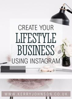 Create Your Lifestyle Business Using Instagram - free eBook // KerryJohnson.co.uk business development | growth | entrepreneur | social media Social Media Branding, Social Media Marketing, Marketing Strategies, Instagram Marketing Tips, Instagram Tips, Business Checks, Small Business Marketing, Influencer Marketing, Business Advice