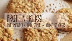 Protein-Kekse mit Mandeln und Zimt ohne Zucker