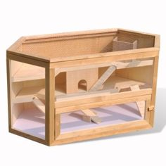 Hamster Cage Wooden Hut Mouse Pet Hutch Hexagon Make the Best this Amazing Novelty. Visit LUXURY HOME BRANDS and buy this offerNow!