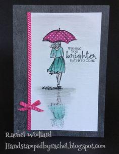 Stampin Up Beautiful You stamp set / Occasions Catalogue 2017 / Watercolour Pencils / Reflection Technique / Rachel Woollard Australia