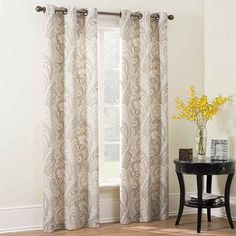 The Big One® Paisley Curtain Pair - 40'' x 84''