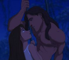 (film) The look Tarzan gives Jane.is everythingThe look Tarzan gives Jane. Tarzan Disney, Disney Pixar, Disney Animation, Disney And Dreamworks, Disney Art, Walt Disney, Disney Characters, Disney And More, Disney Love