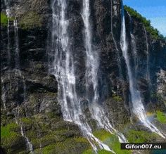 The Seven Sisters Waterfall,Norway! - Inspire Uplift The Seven Sisters Waterfall,Norway! The Seven Sisters Waterfall,Norway! Beautiful Photos Of Nature, Beautiful Places To Travel, Nature Pictures, Amazing Nature, Cool Places To Visit, Beautiful Landscapes, Wonderful Places, Les Cascades, Beautiful Waterfalls