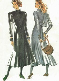 80s New Look Sewing Pattern 6018 Womens Button by CloesCloset