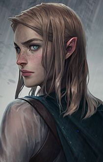 f Half Elf Rogue Thief portrait community NG Znalezione obrazy dla zapytania tyranny portraits