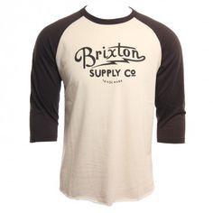 Brixton Clothing Mens Shirt Thornton Cream