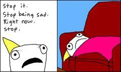Hyperbole and a Half: Adventures in Depression  #depression #mentalhealth #spirit  www.strongcoffey.com