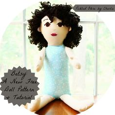 Betsy: A new free doll pattern & tutorial - Pickled Okra: