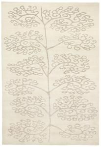 Bukuma WH Rug  Product Family: Bukuma  Designer: Kristiina Lassus    Weave: Tibetan 100 knots, Low pile  Materials: Wool, Bamboo Silk, Pattern Natural Linen  Colour: Natural White - Natural Linen  Quality: KL107B    A...