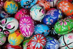 Decking trees with hollowed-out, painted eggs for Easter is popular in Germany, but the 75-year-oldVolker Kraft's creation has becom...