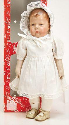 KÄTHE KRUSE doll No. 1, 42 cm.