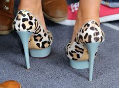 """Cheryl Cole in Charlotte Olympia """"Dolly"""" Pumps - so in love with these"""