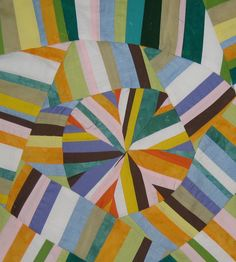 Maria Shell modern graphic quilt
