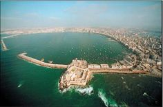 lighthouse of alexandria ruins - Google Search