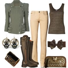 """Tough"" by kswirsding on Polyvore"