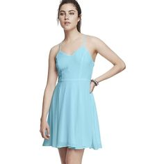 ‼️COMING SOON‼️SZ 12 STUNNING EXPRESS SUMMER DRESS Gorgeous blue strappy dress with a delicate flowy material. Beautiful for spring and summer. NWT Express Dresses Mini