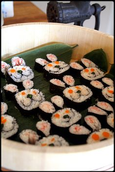 Easter Bunny sushi anyone?