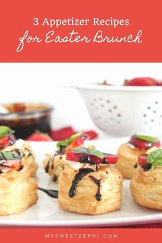 Food has always had an important place in our home. Here we share 3 appetizer recipes for Easter brunch. These recipes are easy to make and can also be recreated for the rest of the year. . . . #zulilyinfluencer #EasterBrunch #recipes #appetizerrecipes #appetizer #brunchrecipes #EasterSunday #easyrecipes #easyentertaining